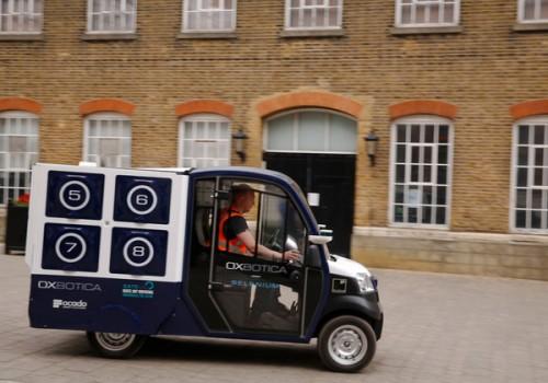 CargoPod – робомобиль для доставки продуктов