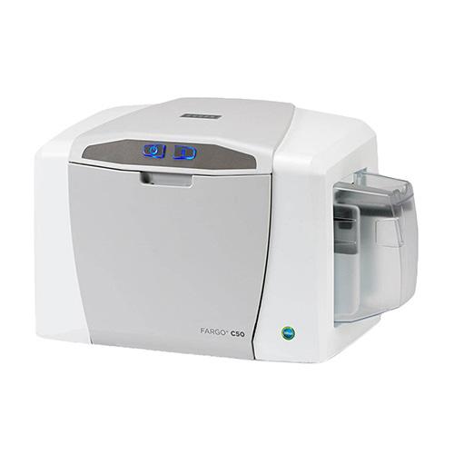 Принтер печати карт HID FARGO C50