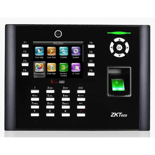 Биометрический терминал ZKTeco iClock 680