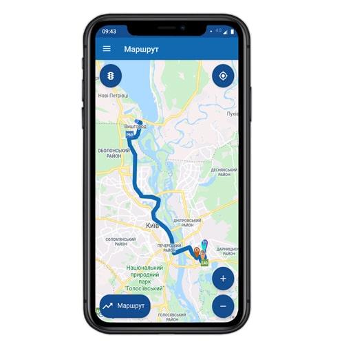 Мобильное приложение для курьерской службы