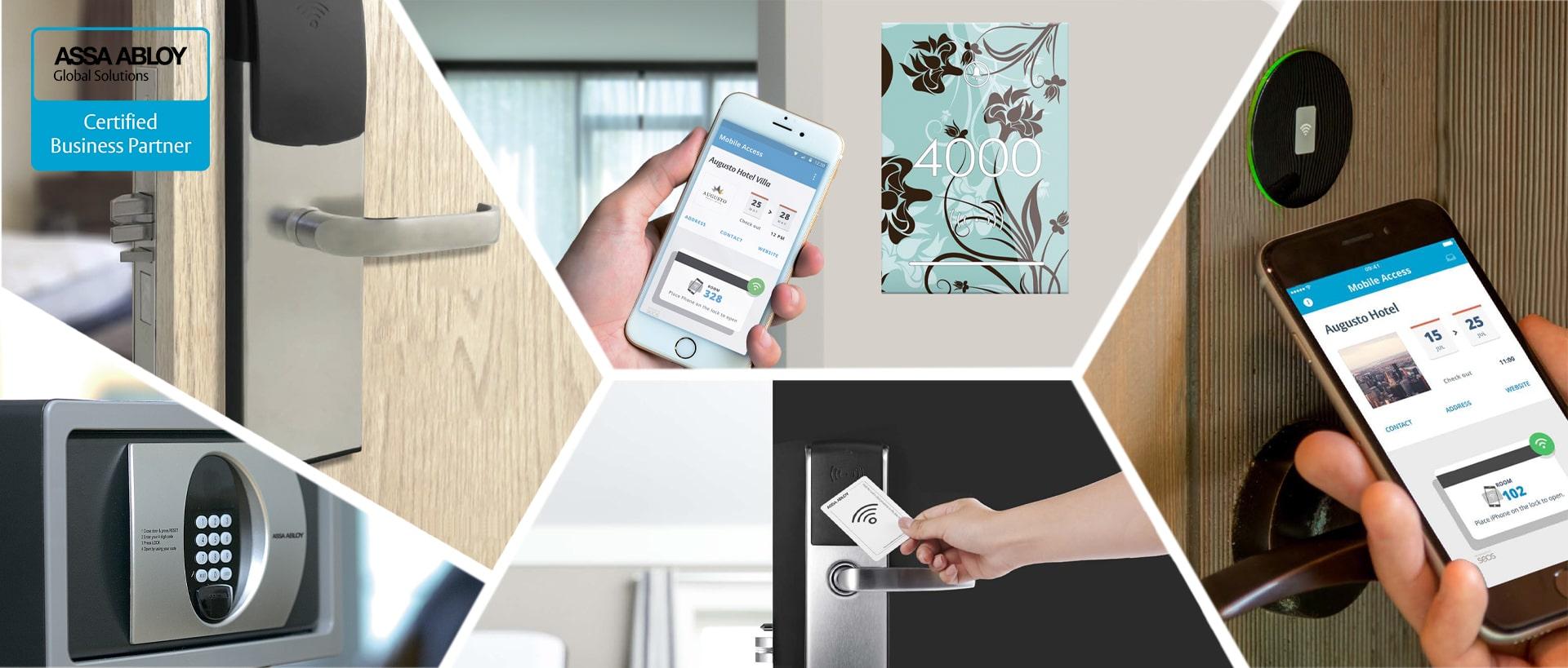 Системы контроля и управления доступом для гостиниц